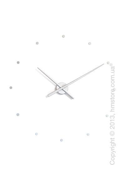 Часы настенные Nomon Oj Wall Clock, Silver