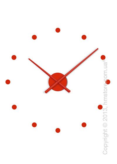 Часы настенные Nomon Oj Mini Wall Clock, Red