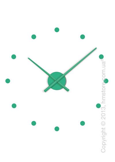 Часы настенные Nomon Oj Mini Wall Clock, Green