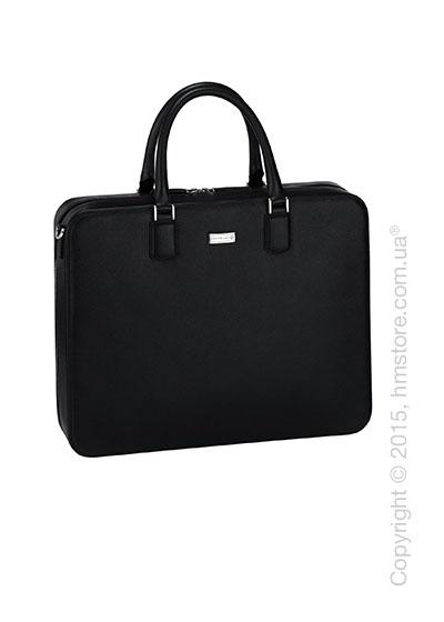 Кожаная сумка для документов Montblanc серия Meisterstuck Selection, Black