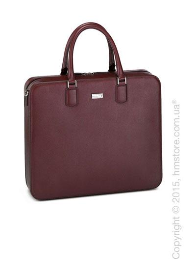 Кожаная сумка для документов Montblanc серия Meisterstuck Selection, Red