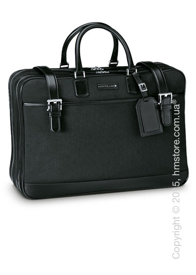 Мужская сумка Montblanc серия Meisterstuck Canvas 48-Hours Bag, Black