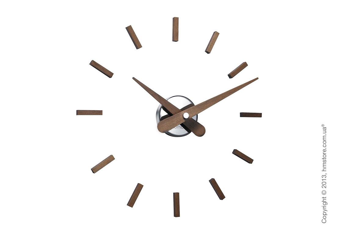 Часы настенные Nomon Sunset Wall Clock, Walnut