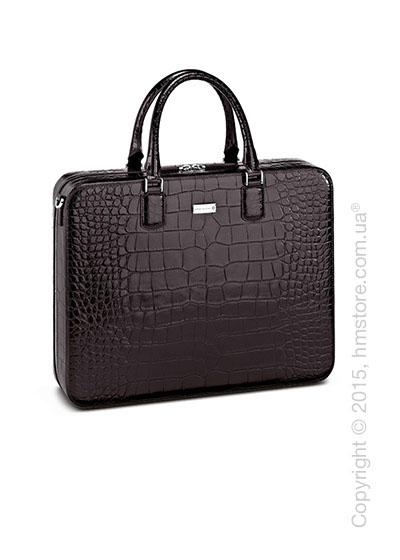 Кожаная сумка для документов Montblanc серия Meisterstuck Selection, Brown