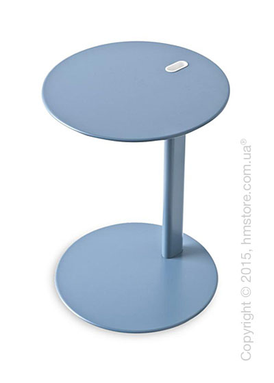 Стол Calligaris Tender, Multifunctional coffe table, Metal matt sky blue