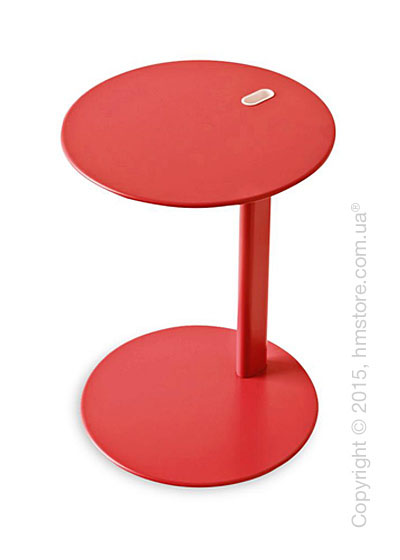 Стол Calligaris Tender, Multifunctional coffe table, Metal matt red
