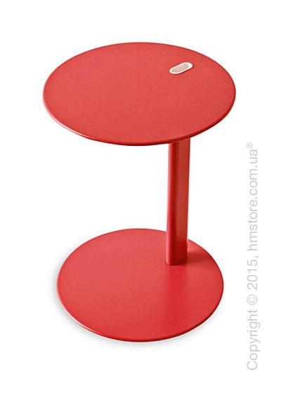 Стол Calligaris Tender, Multifunctional coffe table, Metal matt red