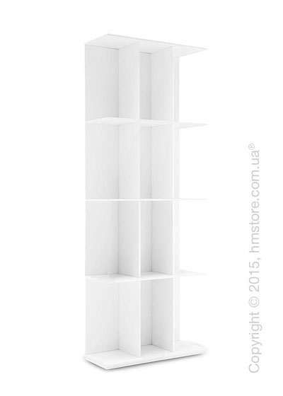 Книжный шкаф Calligaris Division, Wall bookcase, Finish matt optic white