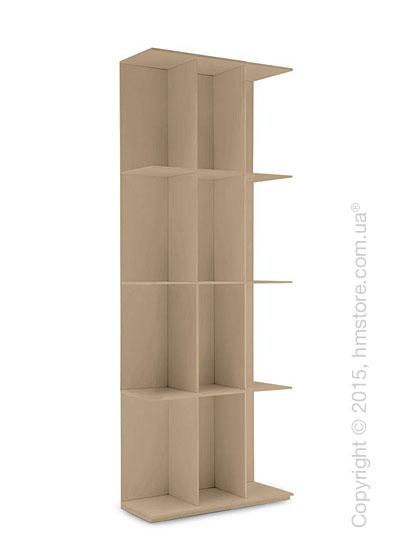 Книжный шкаф Calligaris Division, Wall bookcase, Finish matt nougat
