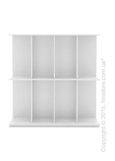 Книжный шкаф Calligaris Division, Free-standing bookcase, Finish matt optic white