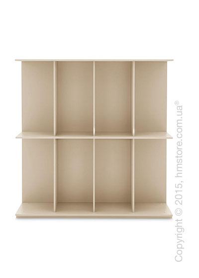 Книжный шкаф Calligaris Division, Free-standing bookcase, Finish matt nougat
