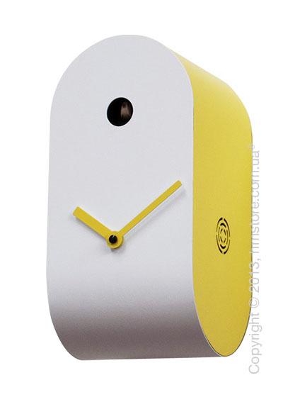 Часы настенные Progetti Pared Cucupola Wall Clock, Yellow