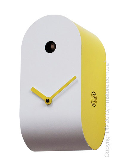 Часы настенные Progetti Pared Cucupola Wall Clock, Yellow
