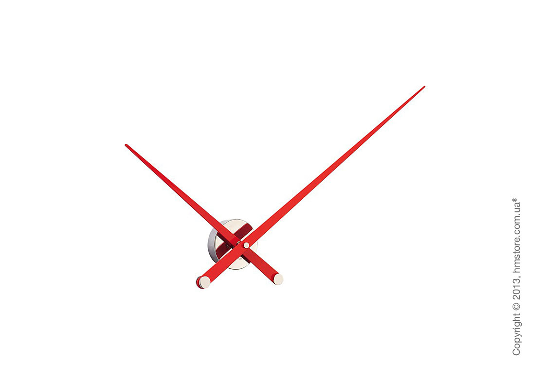 Часы настенные Nomon Axioma l Wall Clock, Red