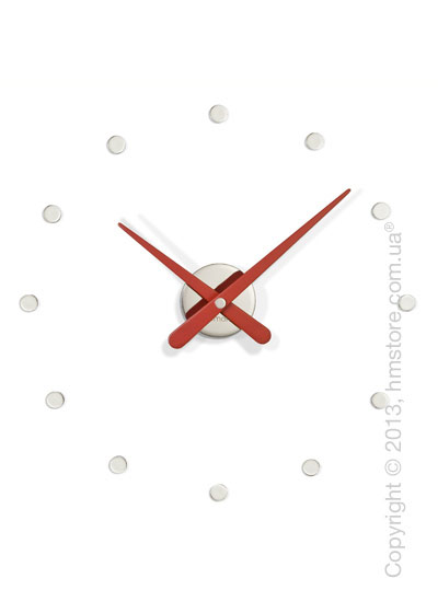 Часы настенные Nomon Rodon Mini L Wall Clock, Red