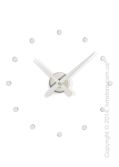 Часы настенные Nomon Rodon Mini L Wall Clock, White
