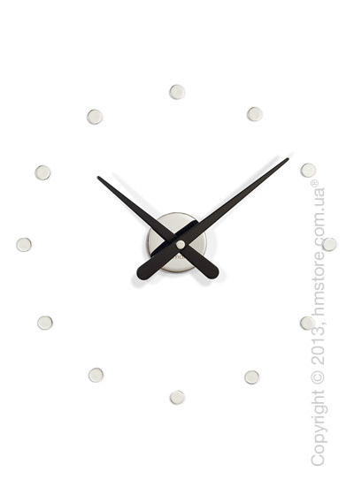Часы настенные Nomon Rodon Mini L Wall Clock, Black