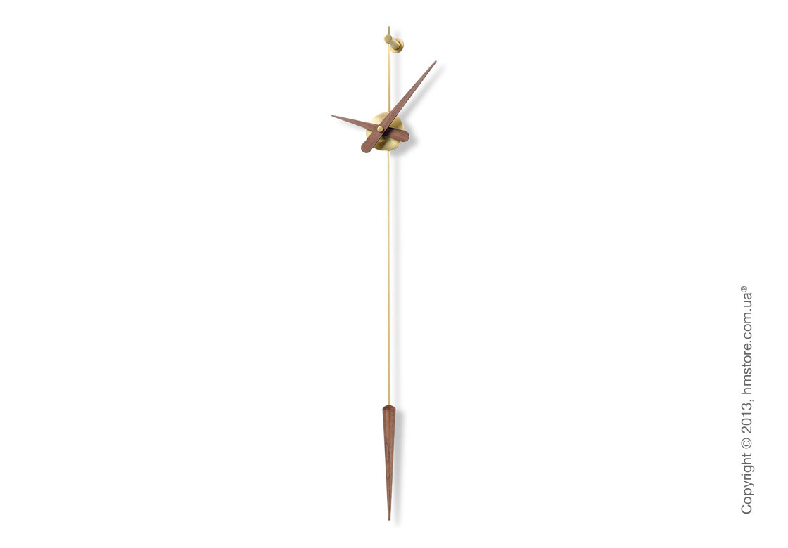 Часы настенные Nomon Punto Y Coma Gold N Wall Clock