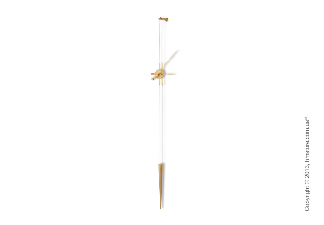 Часы настенные Nomon Pendulo Gold Wall Clock