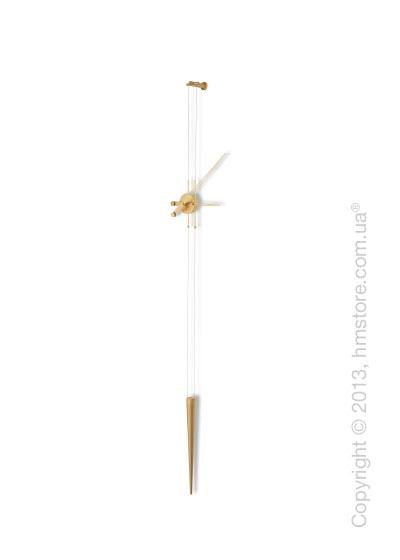 Часы настенные Nomon Pendulo Gold Wall Clock
