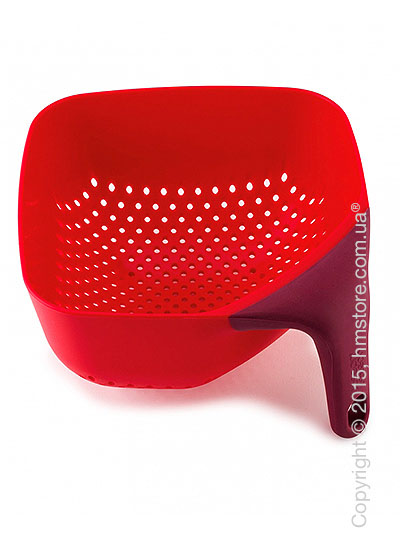 Дуршлаг Joseph Joseph Medium Square Colander, Red
