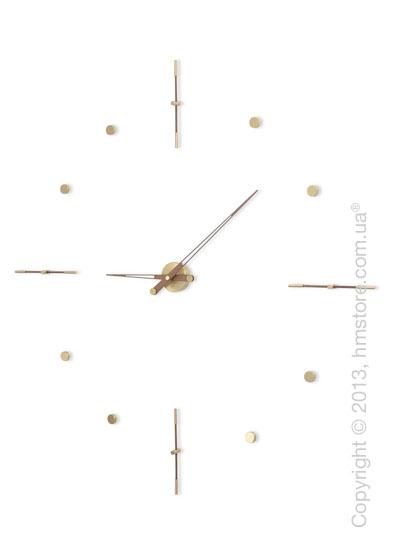Часы настенные Nomon Mixto Gold Wall Clock