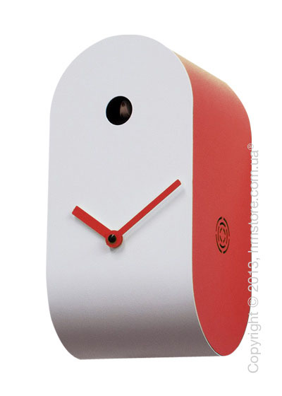 Часы настенные Progetti Pared Cucupola Wall Clock, Red