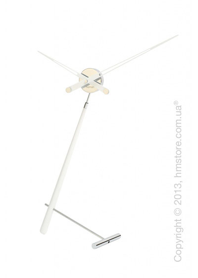Часы настольные Nomon Puntero L Desktop Clock, White