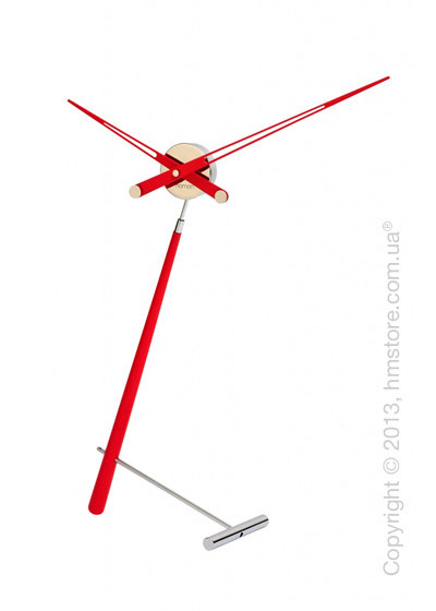 Часы настольные Nomon Puntero L Desktop Clock, Red
