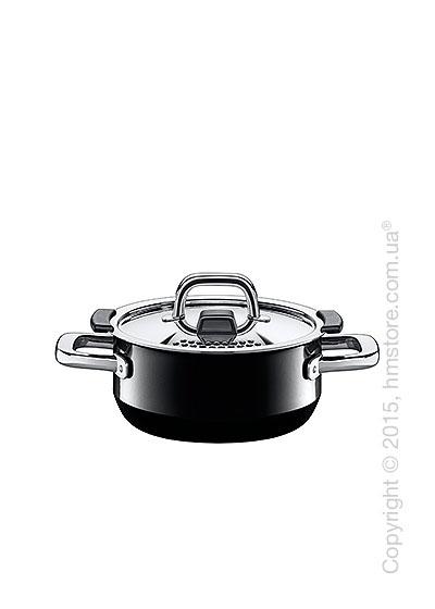 Кастрюля низкая Silit, серия Nature, коллекция Nature Black 1,3 л
