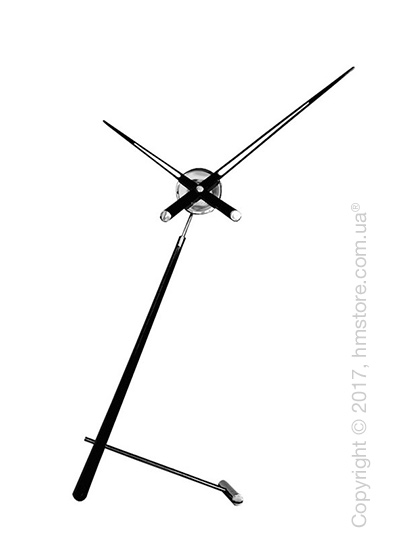 Часы настольные Nomon Puntero L Desktop Clock, Black