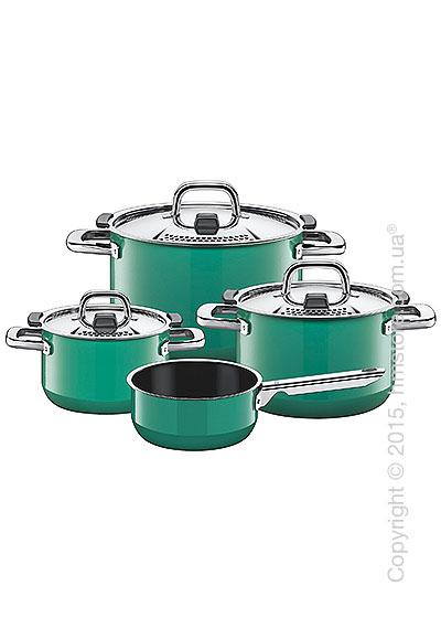Набор посуды Silit, серия Nature, коллекция Ocean Green
