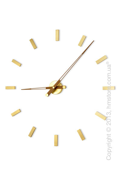 Часы настенные Nomon Tacon 12 Gold Wall Clock
