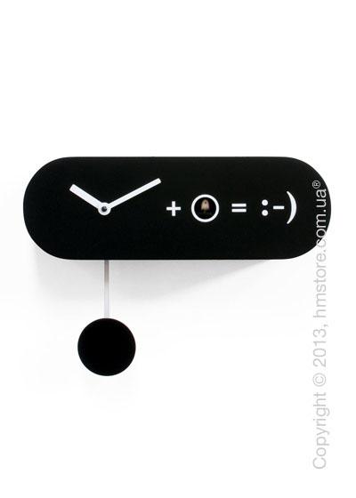 Часы настенные Progetti Pared Formula Wall Clock, Black