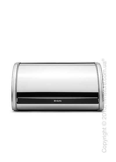 Хлебница Brabantia Roll Top Bread Bin Medium, Matt Steel