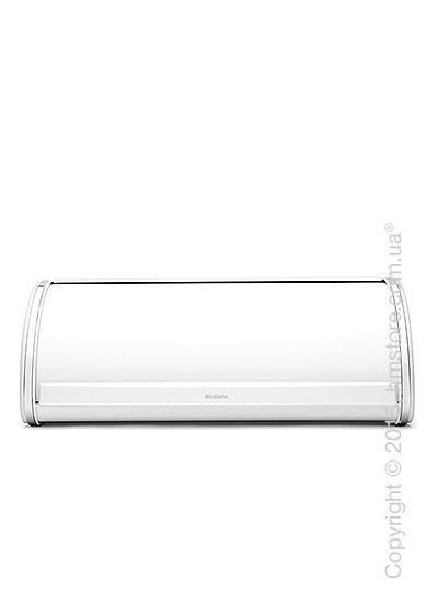 Хлебница Brabantia Roll Top Bread Bin, White