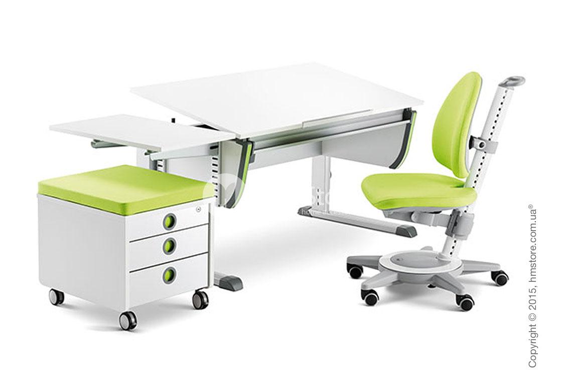 Детский письменный стол moll Joker, White