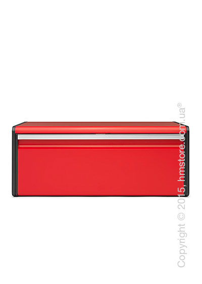Хлебница Brabantia Fall Front Bread Bin, Passion Red