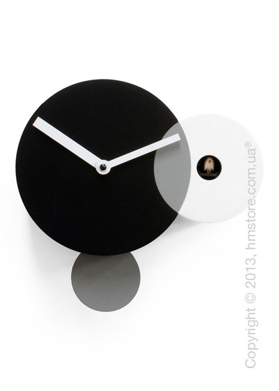 Часы настенные Progetti Pared Kandinsky Wall Clock, Black and White