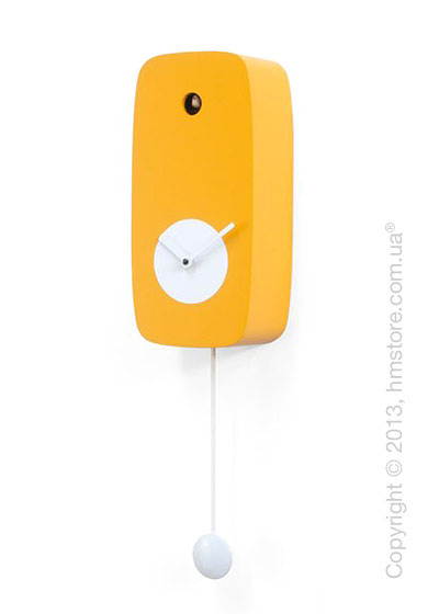 Часы настенные Progetti Pared 4Stagion Wall Clock, Orange