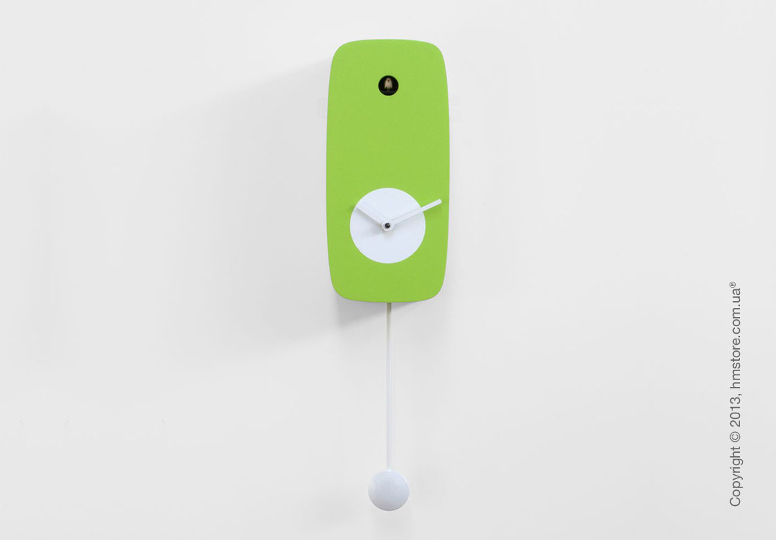 Часы настенные Progetti Pared 4Stagion Wall Clock, Green