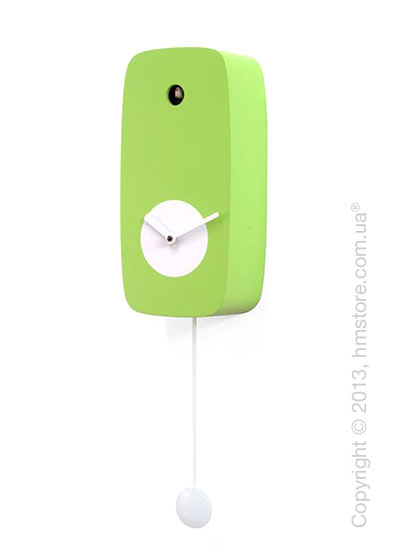 Часы настенные Progetti Pared 4Stagion Wall Clock, Green