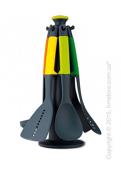 Набор кухонного инвентаря на подставке Joseph Joseph Elevate Carousel Set, Multi Colour