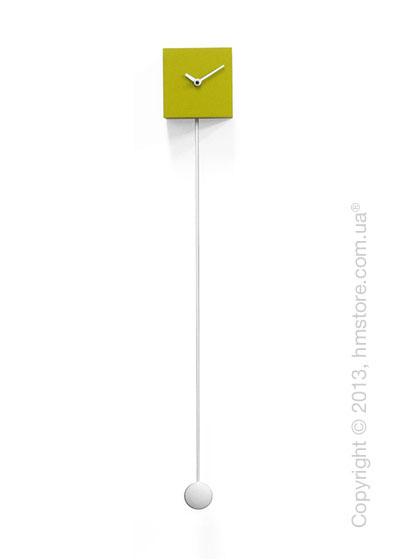 Часы настенные Progetti Pared Long Time Design Wall Clock, Green
