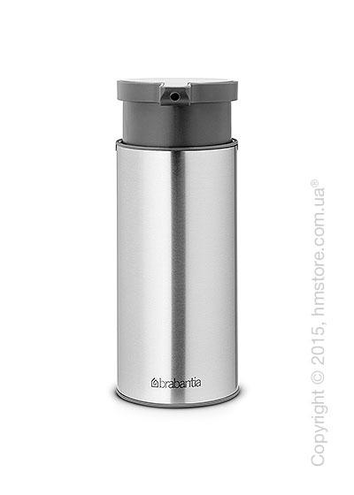 Диспенсер для жидкого мыла Brabantia Soap Dispenser, Matt Steel Fingerprint Proof