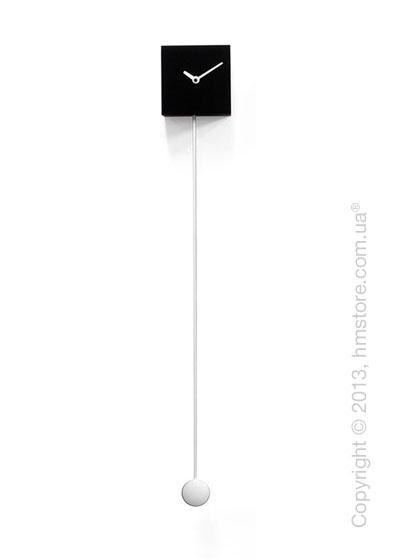 Часы настенные Progetti Long_time Wall Clock, Black