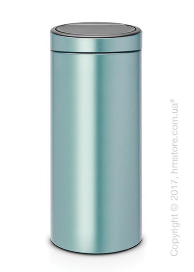 Ведро для мусора Brabantia Touch Bin New 30 л, Metallic Mint