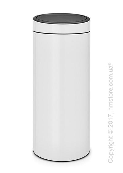Ведро для мусора Brabantia Touch Bin New 30 л, White