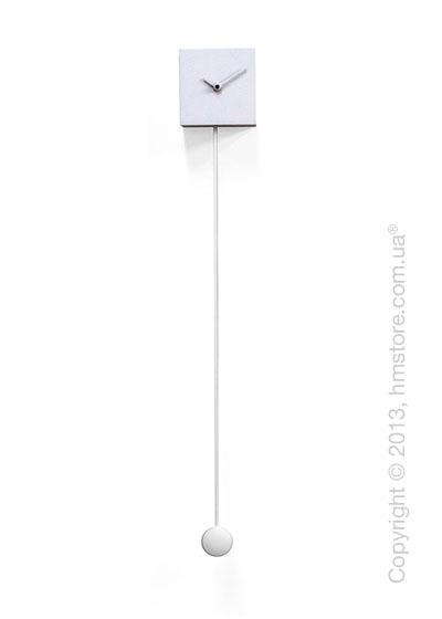 Часы настенные Progetti Long_time Wall Clock, White
