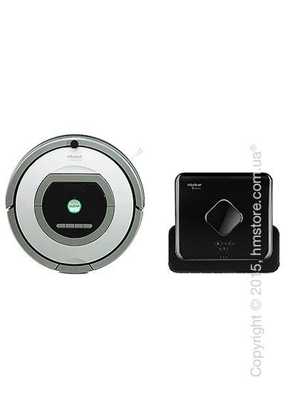 Комплект – робот-уборщик iRobot Roomba 765, робот-уборщик iRobot Braava 380